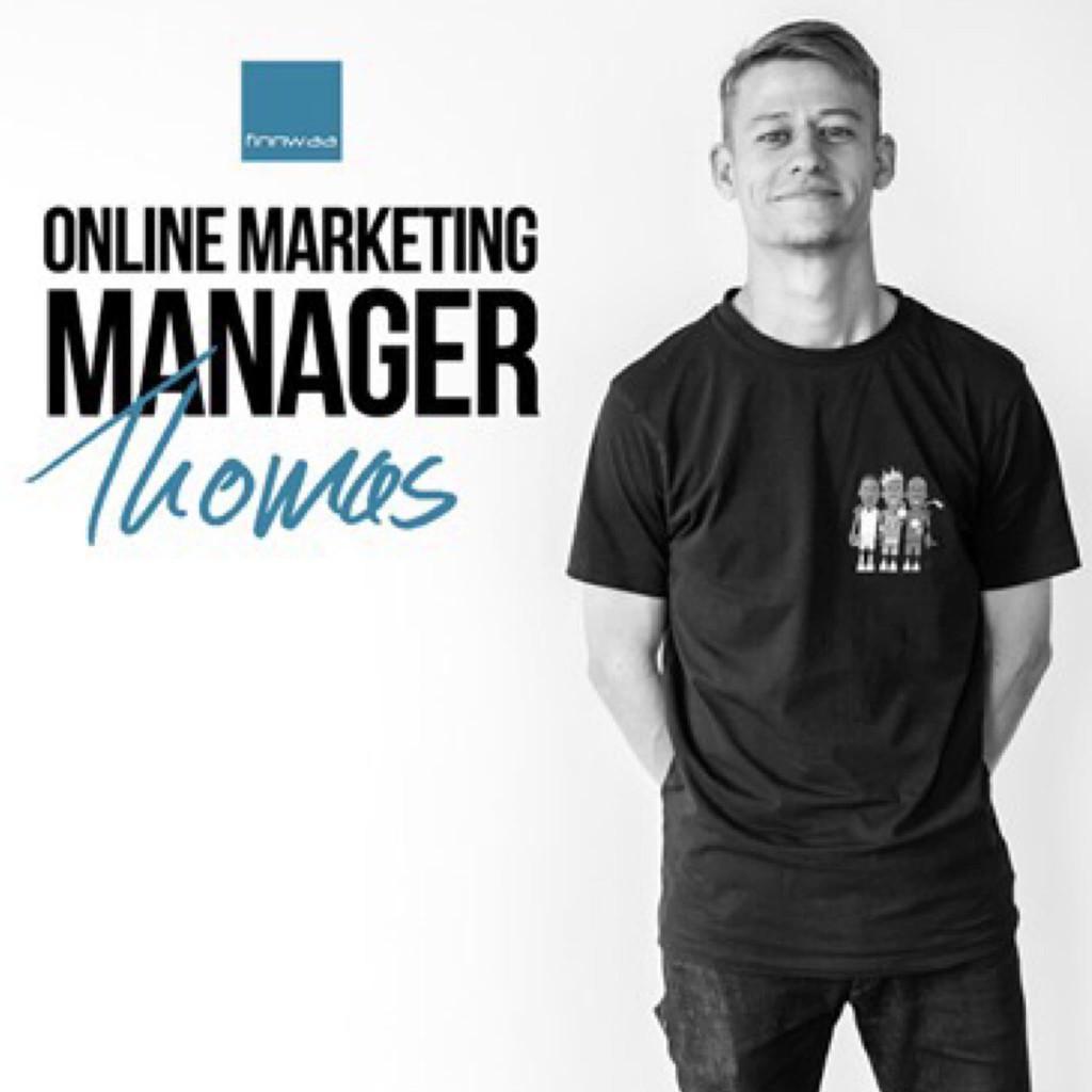 Thomas lehmann online marketing manager finnwaa gmbh for Trainee produktdesign