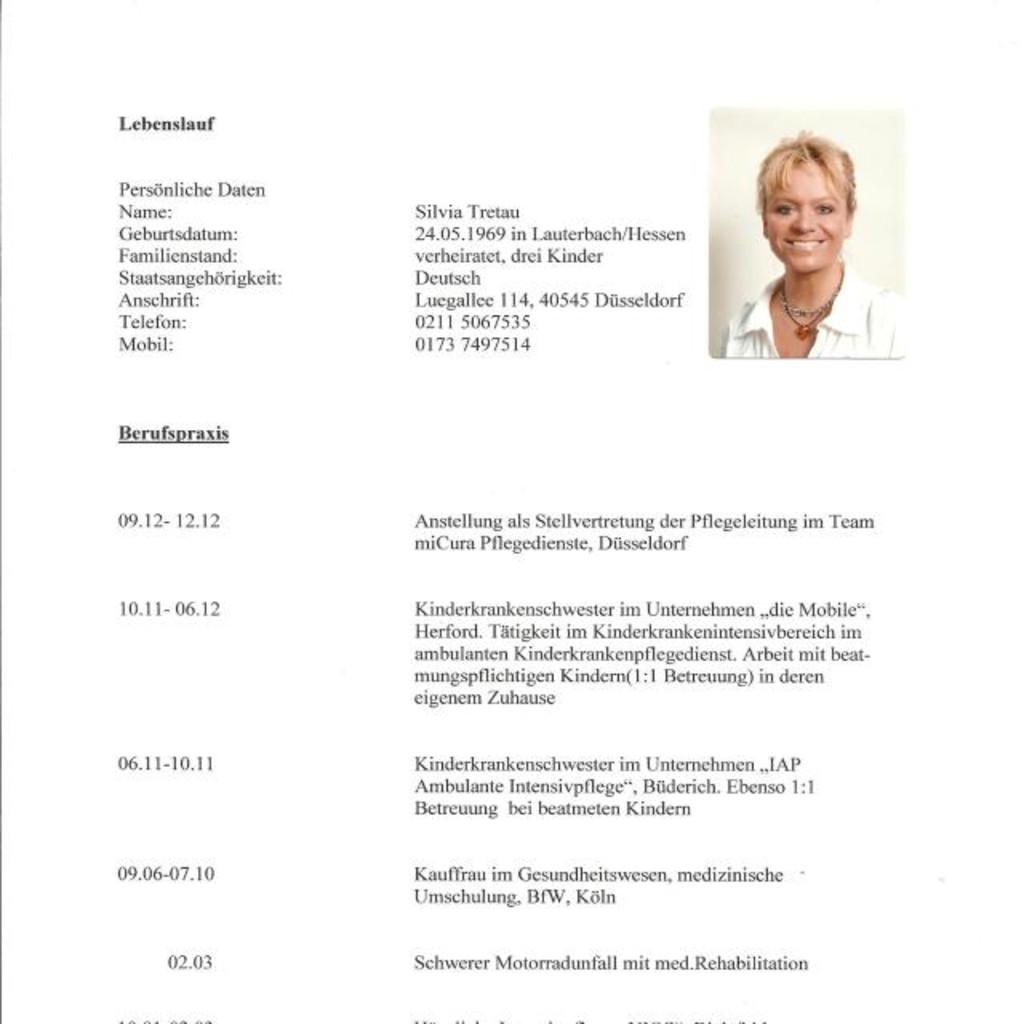 Silvia Tretau - Kauffrau im Gesundheitswesen   XING