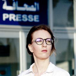 Sarah Mersch - ARD, Deutsche Welle, Zeit Online, taz, Welt, Qantara.de, Reuters, Sada, u.a. - Tunis