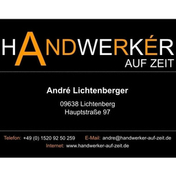 andre lichtenberger inhaber handwerker auf zeit xing. Black Bedroom Furniture Sets. Home Design Ideas