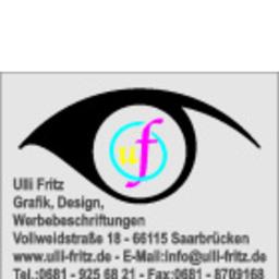 Ulli Fritz - Ulli Fritz Grafik, Design, Werbebeschriftungen - Saarbrücken