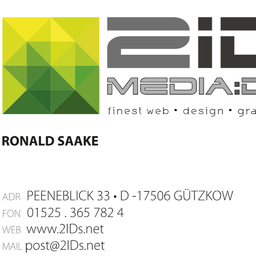 Ronald Saake - 2IDs media:design - Berlin