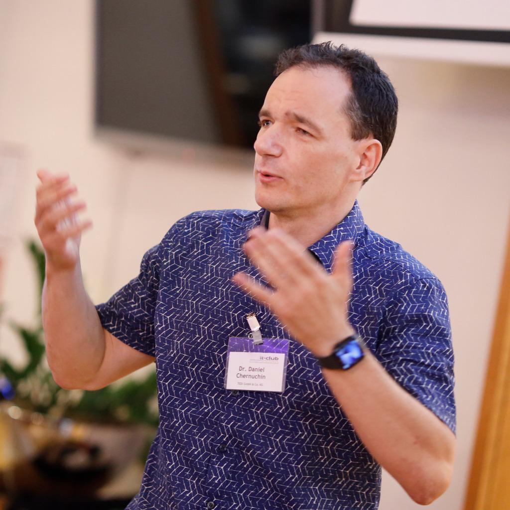 best choice on feet shots of fast delivery Dr. Daniel Chernuchin - Bereichsleiter IT-Anwendungen - TEDi ...