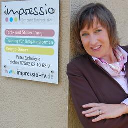 Petra Schnierle - Impressio, der erste Eindruck zählt - Baindt