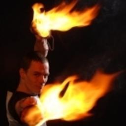 René Albert - Lichtjonglage & Feuershow - Köln