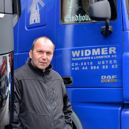 Theo Widmer - Widmer Transporte & Logistics AG - Volketswil