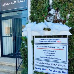 Dr Günther Grewe - Dr. Grewe & Partners, CPAs, LLP New York - Rye, New York