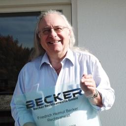 Friedrich Helmut Becker - Becker Rechtsanwalt GmbH - Steißlingen