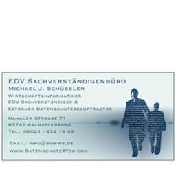 Michael Schüssler - EDV Sachverständigen und Datenschutzbüro M. Schüssler - Aschaffenburg