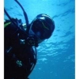Mert Keskin - blue scuba - izmir