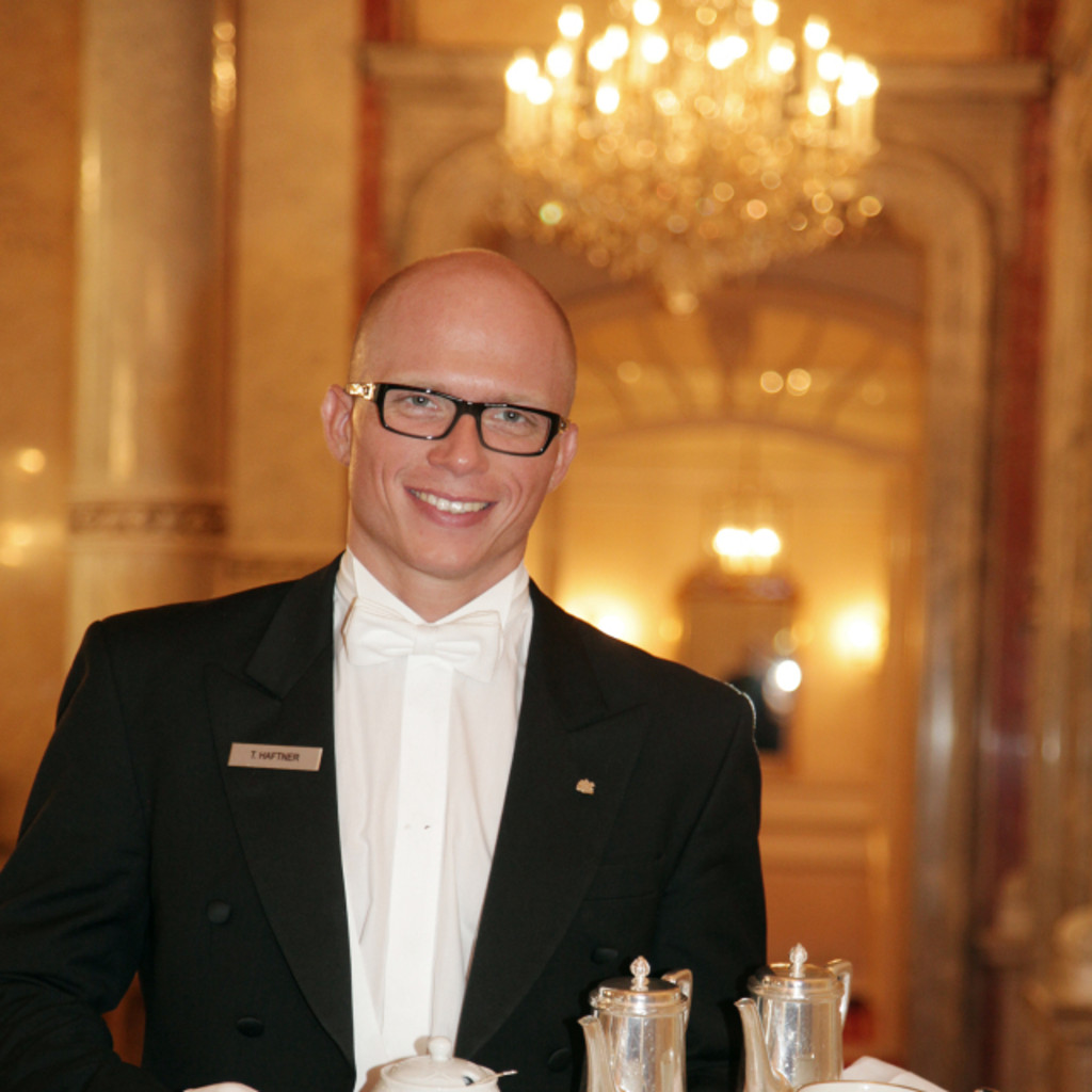 Thomas Haftner Head Butler Captain Hotel Imperial