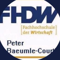 Prof. Dr. Peter Baeumle-Courth - FHDW - Fachhochschule der Wirtschaft - Bergisch Gladbach