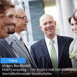 Jürgen Bockholdt - PERIT Consulting – TOP PEOPLE FOR TOP COMPANIES - München