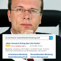 Ansgar Holtmann - Vendion Consulting: mehr Umsatz im eCommerce, Distanzhandel & Direktmarketing - Münster