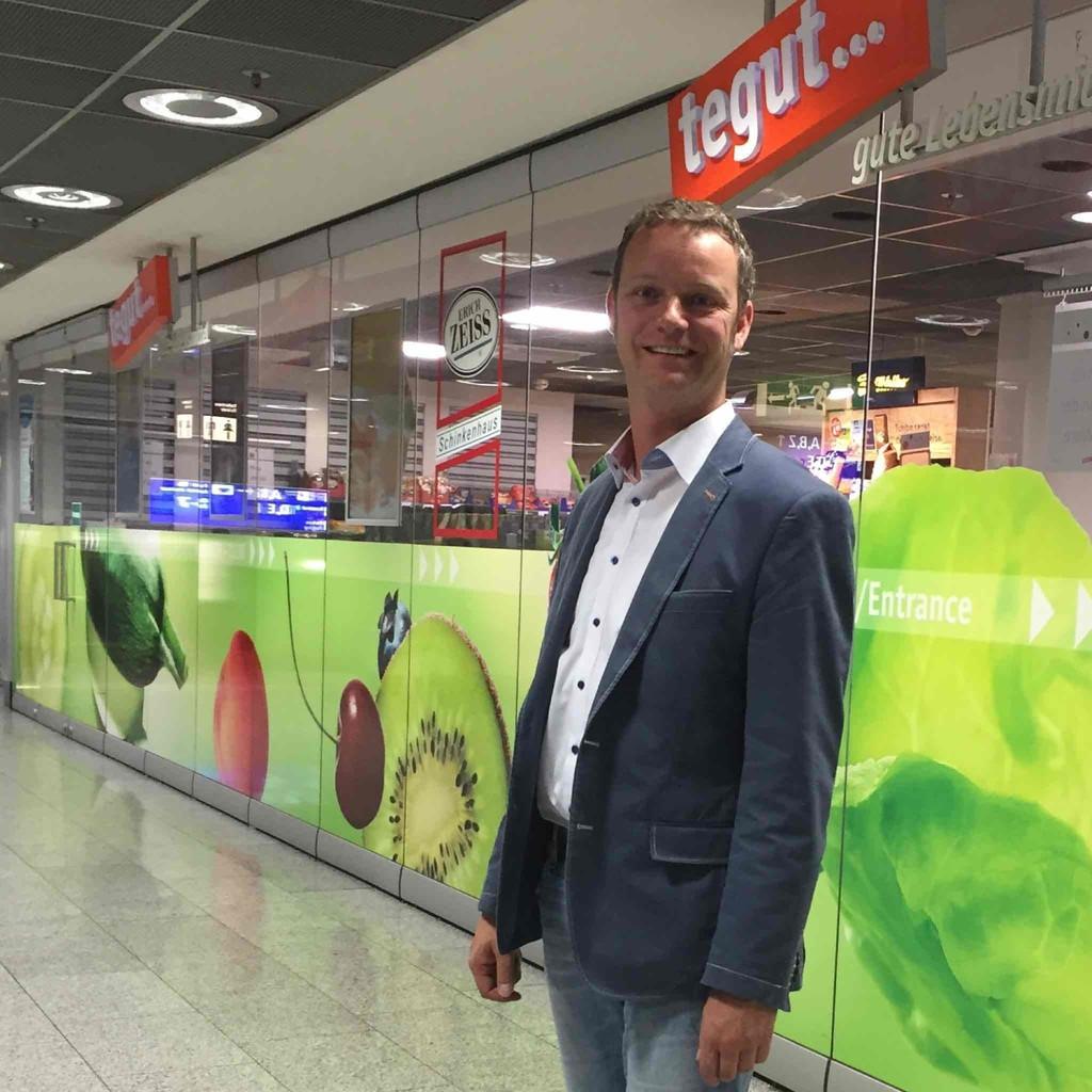 Jörg Zorn - Marktinhaber - Tegut... Frankfurt Airport und ...