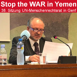 Mathias F. Tretschog - Kriegsverbrechen im Jemen - Königs Wusterhausen   Berlin-Brandenburg   Europa