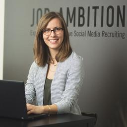 Tina Prade - Job Ambition GmbH - Social Media Recruiting - München