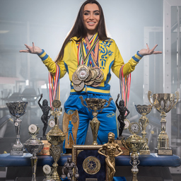 Mag. Anastasiia Kliuchnikova - IFBB,  WBPF,  PSL - Zwickau