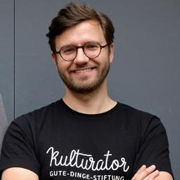 Johannes Schricker - Kulturator | Gute-Dinge-Stiftung - München