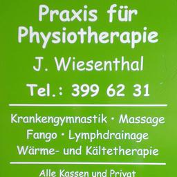 Judith Wiesenthal - Physiotherapie Judith Wiesenthal- Berlin Tiergarten - Alt Moabit 94 - Berlin