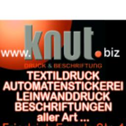 Mathias Müller - knut Druck & Beschriftung - Potsdam