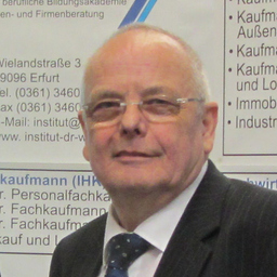 Dr Anton Wanek - Institut Dr. Wanek - Erfurt