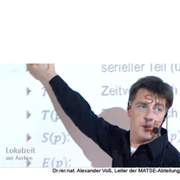 Prof. Dr. Alexander Voß - FH Aachen - University of Applied Sciences - Jülich